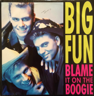 Big Fun - Blame It On The Boogie (12) (VG/VG)